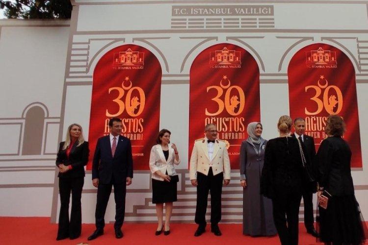 İstanbul'da 30 Ağustos resepsiyonu