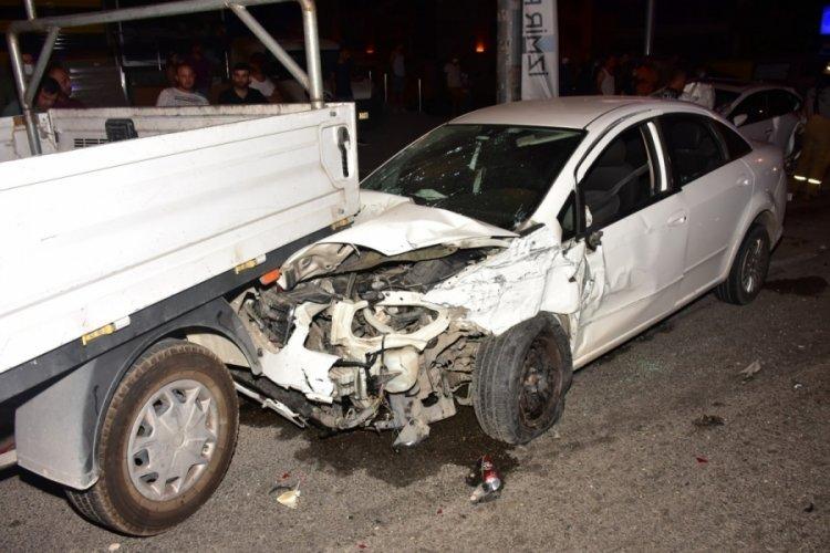 İzmir'de korkunç kaza! 5 kişi yaralandı