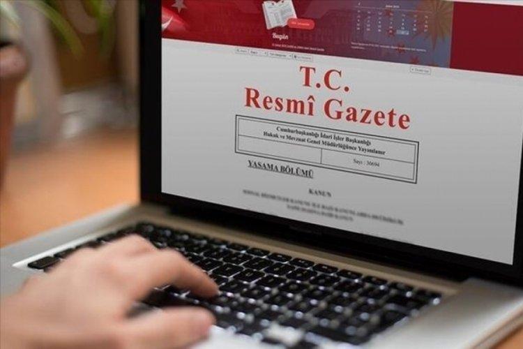 Milletlerarası anlaşma Resmi Gazete'de!
