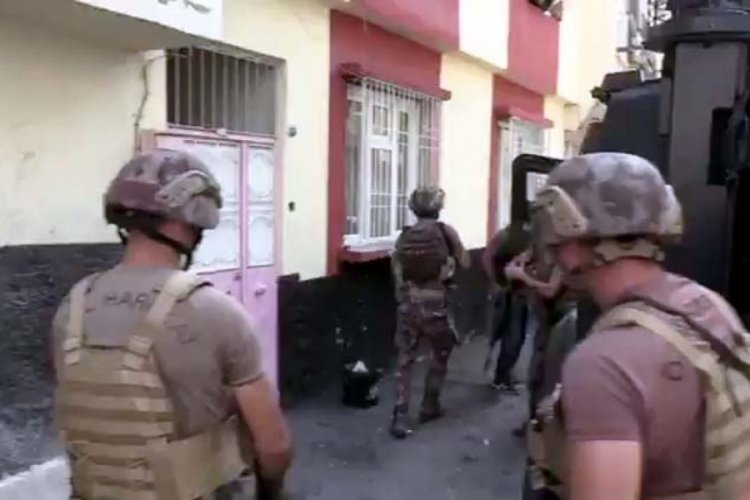 Gaziantep'te uyuşturucu operasyonu! 16 tutuklama
