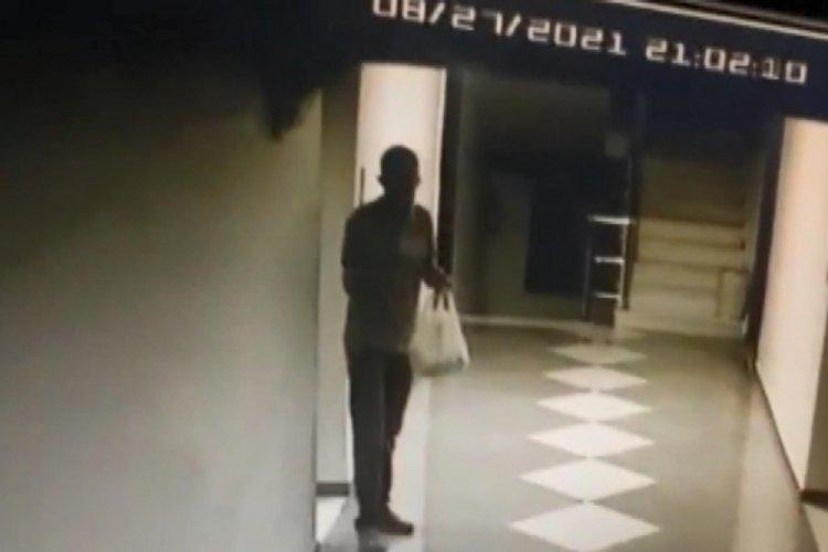İstanbul Beylikdüzü'nde hırsızlık yapmak için 9 saat bekledi