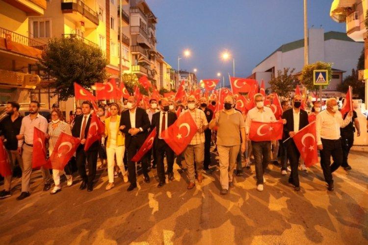 Bursa Gemlik'te 30 Ağustos coşkusu