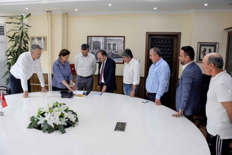 Bursa Karacabey'deki spor yatırımları değerlendirildi