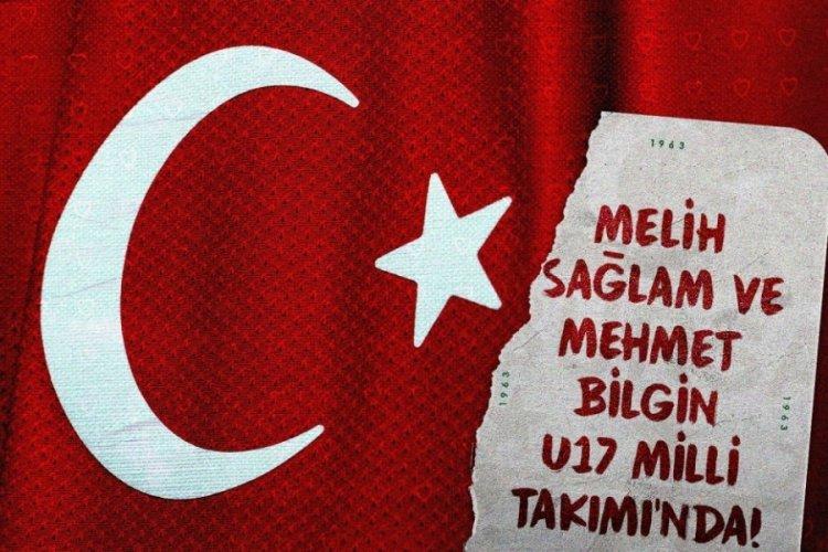 U17 Millî Takımı'nın aday kadrosuna Bursaspor'dan iki isim davet edildi