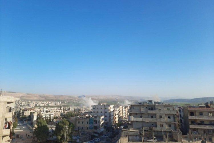 Suriye'nin Afrin ilçesine hava saldırısı!