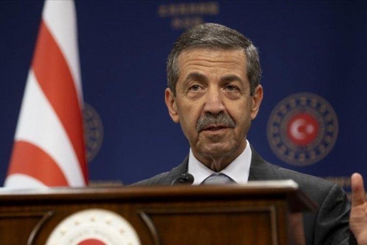 KKTC Dışişleri Bakanı, ABD'li Senatör'ün Kıbrıs'taki Türk askerine ilişkin sözlerine tepki gösterdi