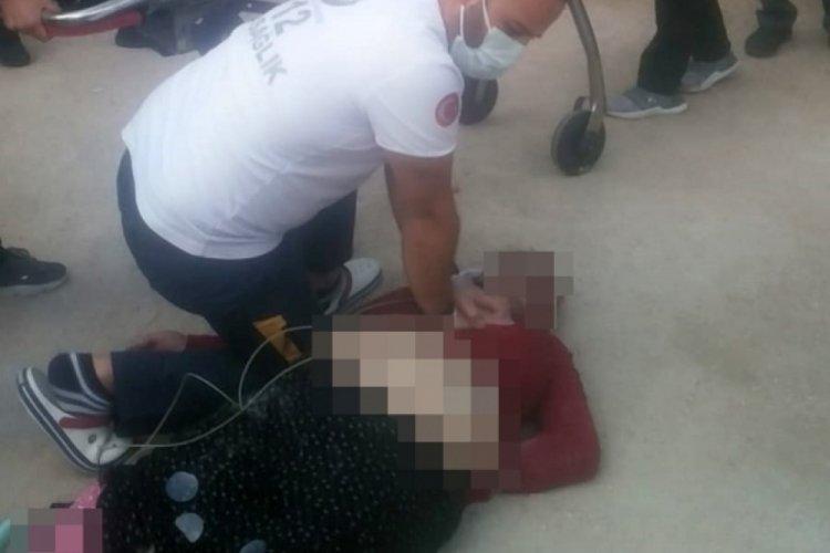 Bursa'da poliklinik önünde ambulans bekleyen yaralı kadın öldü, vatandaşlar isyan etti