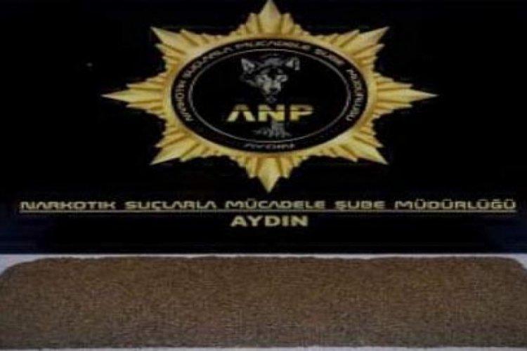 Aydın'da uyuşturucu tacirine gözaltı