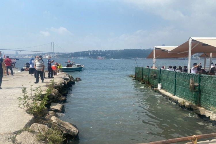 İstanbul Çengelköy'de dereden gelen kokuya vantilatörlü önlem