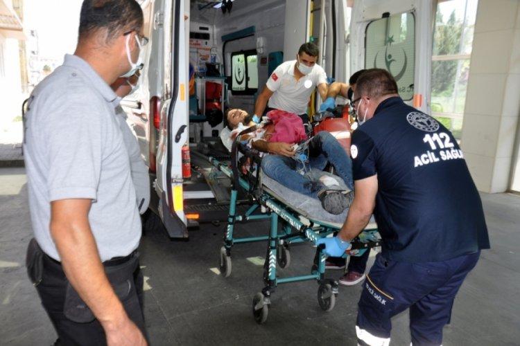 Karaman'da yolda karşılaştığı husumetlisini vurdu