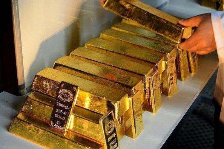 Türkiye'nin altın rezervi Temmuz'da geriledi