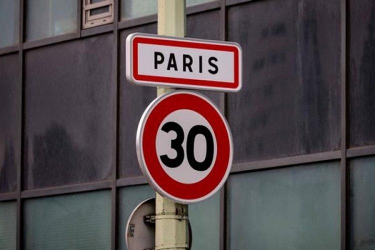Paris'te hız sınırına ayar!