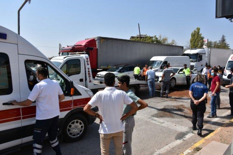 Kırıkkale'de trafik kazası! 4 yaralı