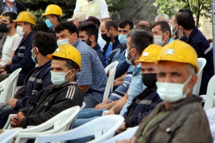 Bolu'da madencilere tiyatrolu iş güvenliği eğitimi