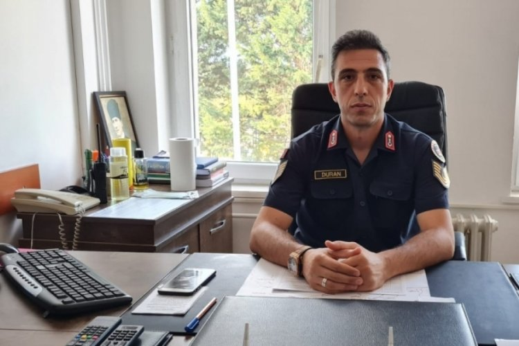 Bursa'da İznik Jandarma Karakol Komutanı göreve başladı