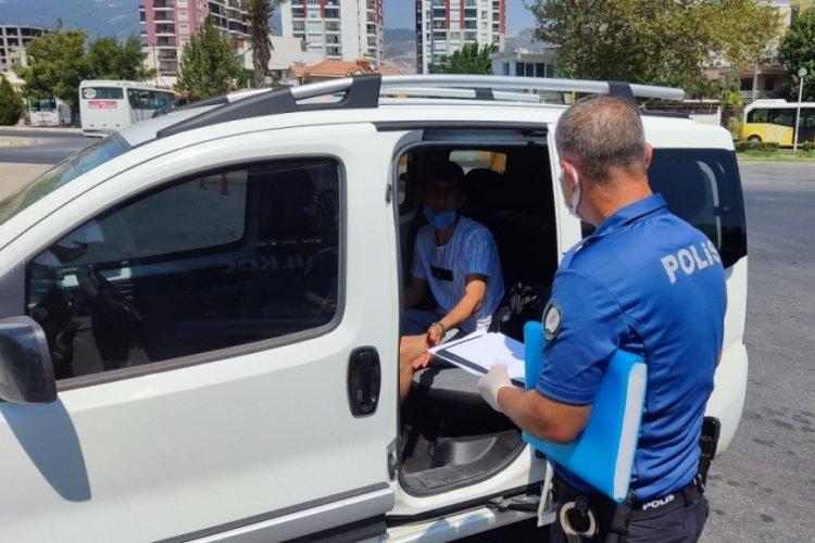 Başkasına ait HES koduyla yolcu otobüsünde yakalandı