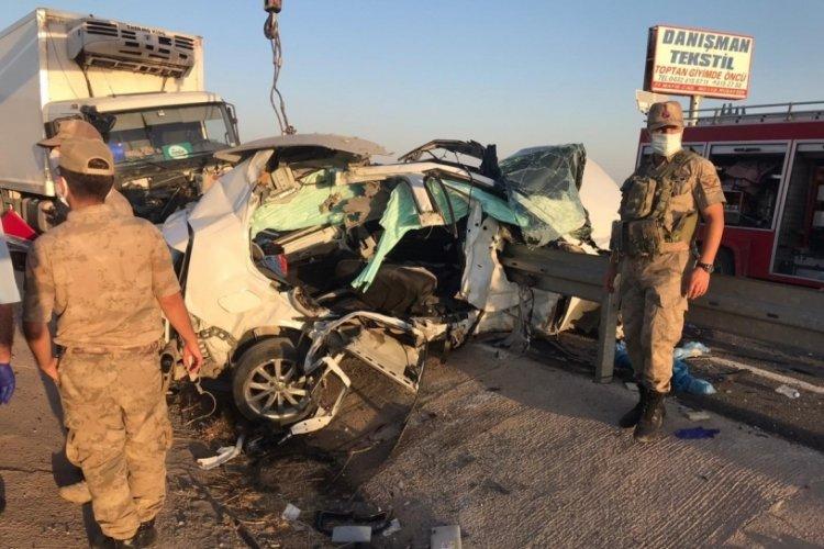 Mardin Nusaybin'de ölümlü kaza