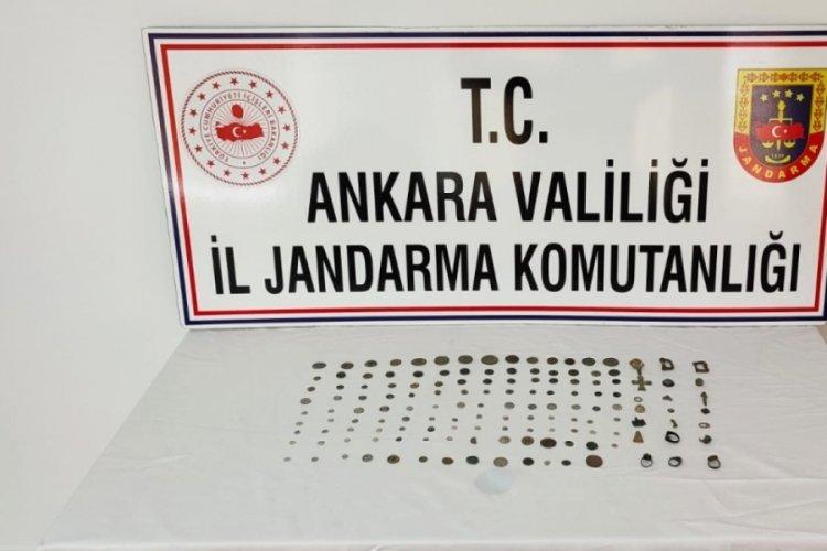 Ankara'da tarihi eser operasyonu