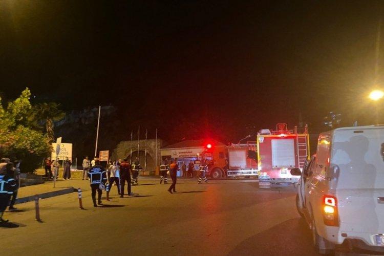 Zonguldak'ta yangın ihbarı yapıldı, gerçek olay yerine gelince anlaşıldı