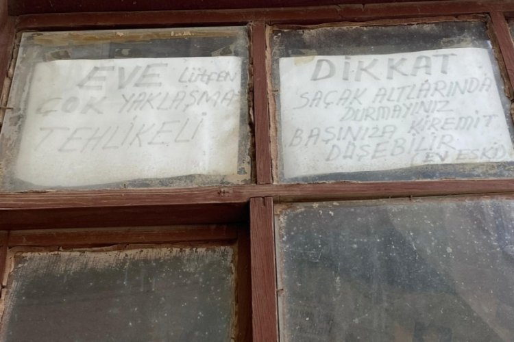 Bursa'daki Tabut Ev ve Perili Ev'in hikayesi... (ÖZEL HABER)