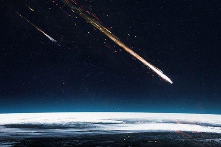 Brezilya'da atmosfere giren meteor 12 saniye boyunca kayıt altına alındı