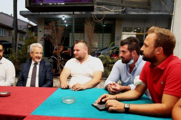 Bursa'da Başkan Erdem Yolçatı gençlerini dinledi