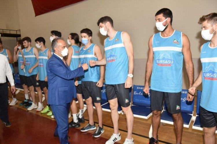 Gemlik Basketbol Kulübü'ne Bursasu desteği