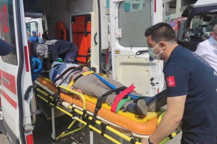 Bursa Orhangazi'de terminalde bir minibüsün çarptığı kişi yaralandı