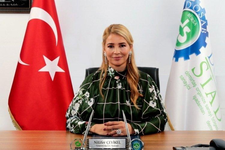 Bursa DOSABSİAD Başkanı Çevikel: Kalıcı büyüme için sanayicinin yükü azaltılmalı