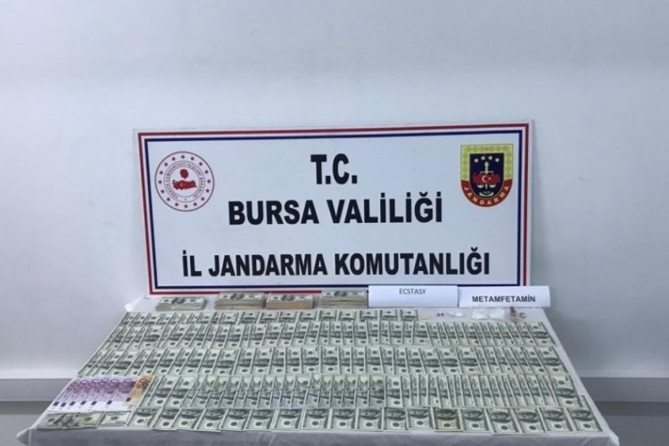 Bursa'da sahte parayla alışveriş yapan şüphelilere operasyon!