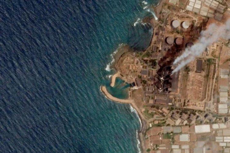 Suriye'den gelen petrol sızıntısı KKTC kıyılarından uzaklaştı