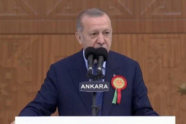 Cumhurbaşkanı Erdoğan: Yıl bitmeden temeli atılacak