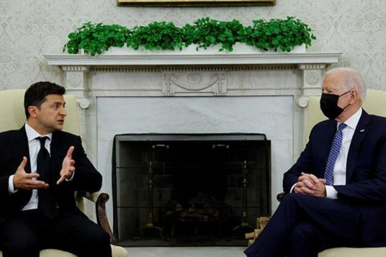Beyaz Saray'da kritik görüşme! ABD Başkanı Biden'den 'Rusya' mesajı