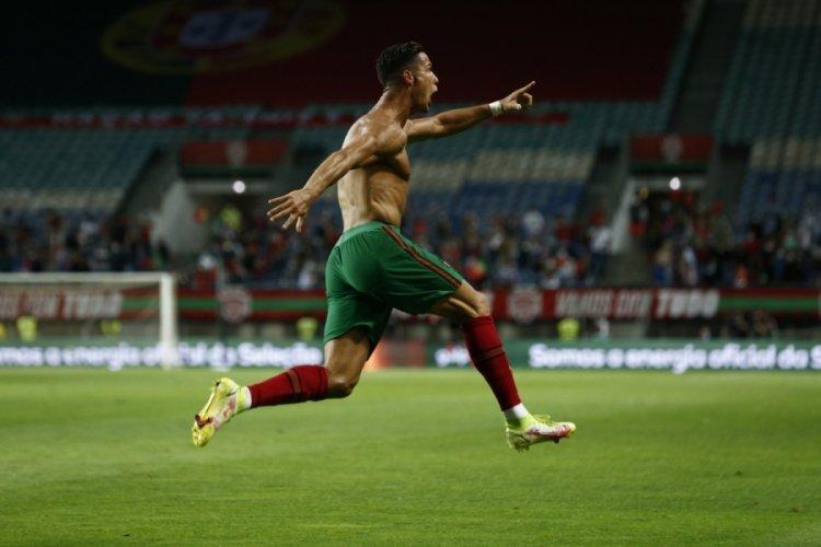 Rekor, Cristiano Ronaldo'da!