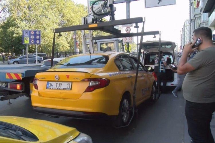 İstanbul'da trafikten men edilen taksi sürücüsü: Adam mı ezdim