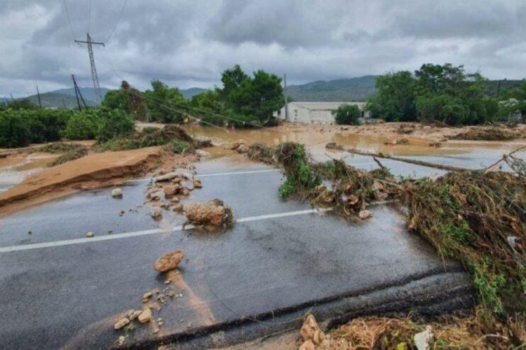 İspanya'da şiddetli yağışlar nedeniyle su baskınları oldu