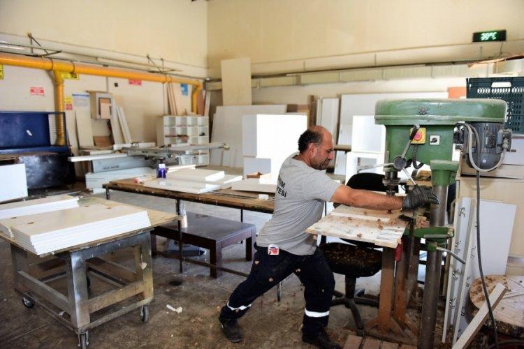 Bursa Yıldırım'da üretim tasarrufa dönüşüyor