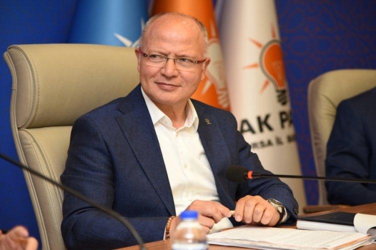 AK Parti Bursa İl Başkanı Gürkan, büyüme rakamlarını değerlendirdi