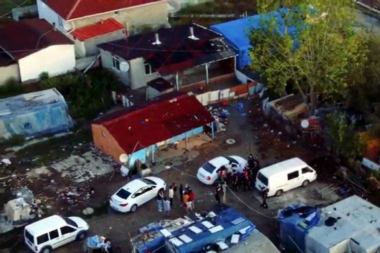 Tekirdağ polisinden şafak operasyonunda 14 kişi gözaltına alındı