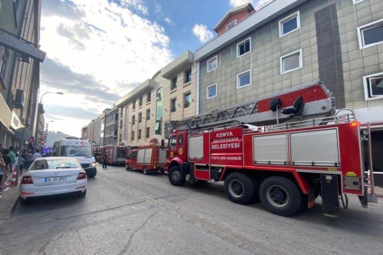 Konya'da asansör bakımı yapan 2 kişi hayatını kaybetti