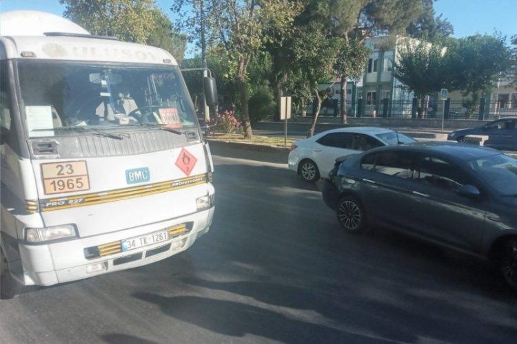 Aydın'da yakıt tankeri ile otomobil çarpıştı