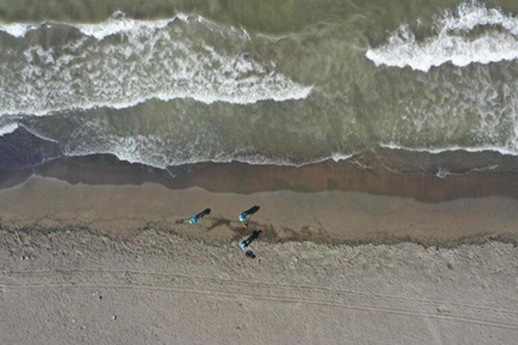 Samandağ'da sahile petrol atığı vurdu! Hatay Valisi Doğan açıklama yaptı