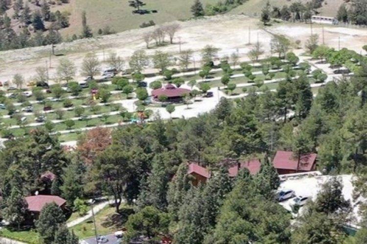 Bursa Harmancık Kamp ve Karavan Alan projesi inşaatı sürüyor