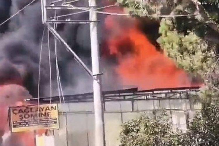 Balıkesir'de iş yerinde yangın! Baba öldü, oğlu ağır yaralı