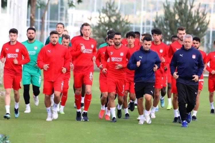 Sivasspor, Fenerbahçe hazırlıklarına başladı