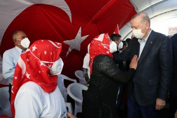 Cumhurbaşkanı Erdoğan, Diyarbakır annelerine seslendi