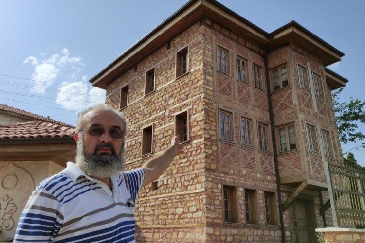 Bursa'daki bu köye gelen misafirler milyonluk konakta ücretsiz kalıyor