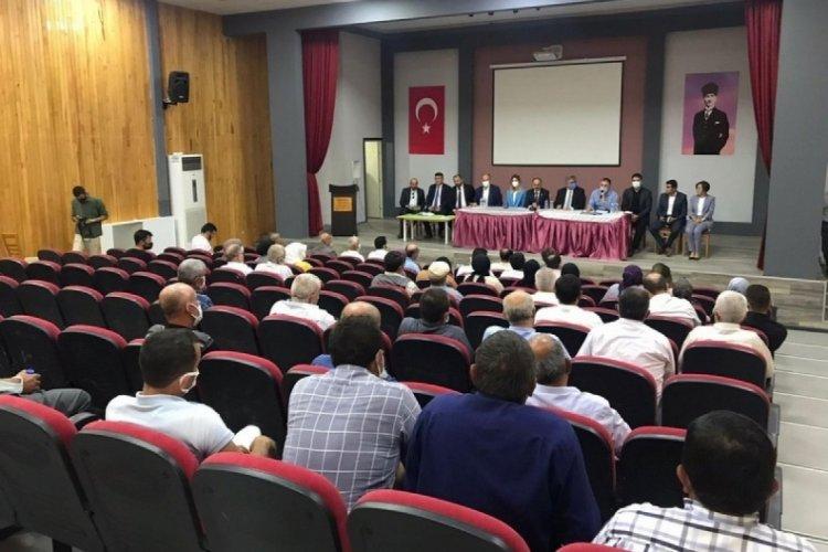 Bursa'nın dağ ilçelerinde kalkınma ortak akılla sağlanacak