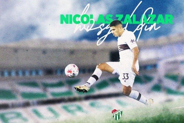 Bursaspor, Nicolas Zalazar transferini resmen duyurdu