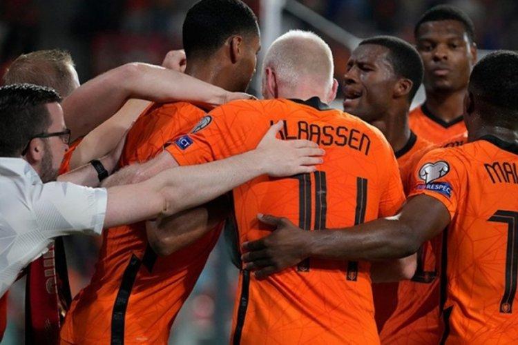 Hollanda, Karadağ'ı 4-0 mağlup etti